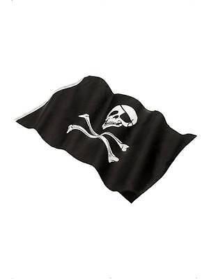 Piraten Flagge Kostüm Party Zubehör 152X91CM Totenkopf & Gekreuzte Knochen ()