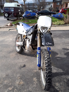 Blue Plated Husqvarna CR250