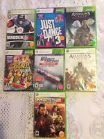 Xbox 360 games all SEALED