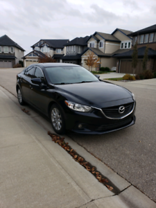 2014 Mazda 6 luxury package with remote starter and winters