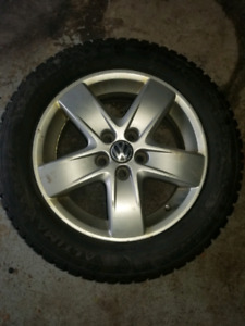 VW Rims with Good Winter Tires