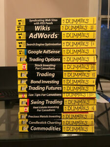 "Assorted Web Design ""For Dummies"" Books for Sale"