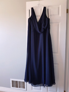 Brand New Navy Bridesmaid Plus Size Dress