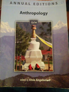 Anthropology text book West Island Greater Montréal image 1