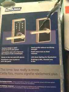 Like New Schlage Keyless locks $60 each