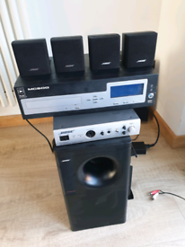 Bose Iza-190 amplifier ,subwoffer and speakers