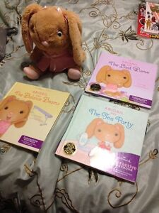 Abigail interactive book and bunny