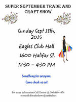 Super September Trade Show and Craft Sale