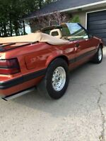 PSP BUILT 1984 MUSTANG VERT (3000KM ON COMPLETE LONG BLOCK BUILD