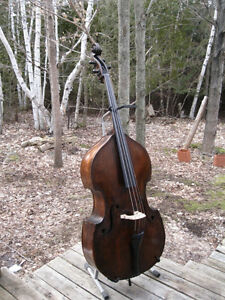 Double Bass - fully carved - 1800s