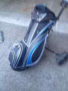 Brand new never used Golf Bag with cart Windsor Region Ontario image 2