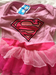 Infant Girls Superbaby Costume 6-12 months