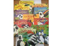 x10 Bamboo, Velvet and Beak. Childrens Books