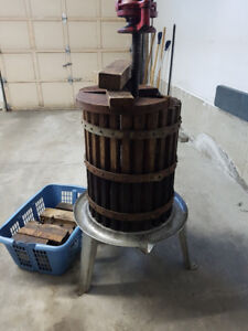 Wine making equipment  ( grape press )