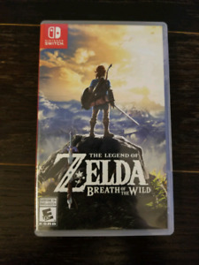 Zelda Breath of the wild for Nintendo Switch