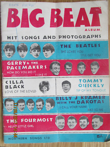 BIG BEAT ALBUM – Hit Songs and Photographs 1963