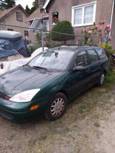 2000 FORD FOCUS WAGON ***RELIABLE STUDENT CAR, NEW ENGINE