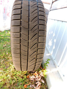 4 WINTER/SNOW TIRES for sale Kitchener / Waterloo Kitchener Area image 6