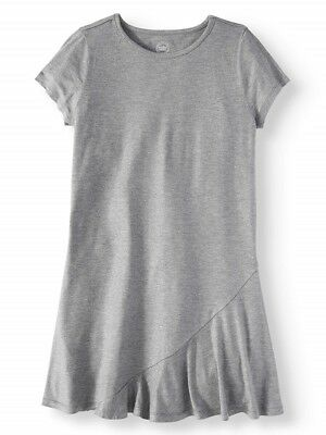 NWT Girls 6 - 6X Gray Sparkle Casual Dress