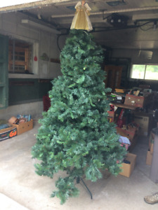 Artificial Christmas tree -- 6 foot tall