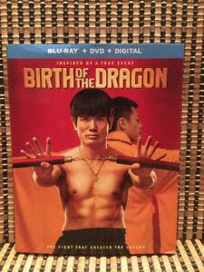 Birth Of The Dragon (2-Disc Blu-ray/DVD, 2017)+Embossed Slipcove