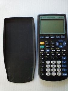 Calculatrice Texas Instrument TI - Sharp - Canon Calculator