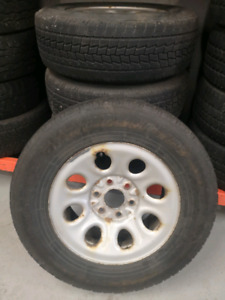LT245/70R17- Winter Tires and Rims