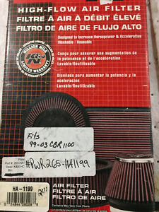 K&N Air FIlter 99-03 Honda CBR1100