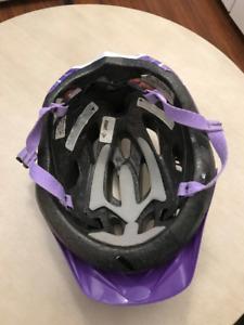 casque bicyclette pour fille