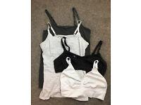 Nursing Tops and bras, size 12, H&M, Emma Jane, John Lewis