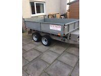 Tipper trailer 8x5 protec