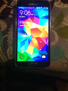 Samsung Galaxy S5 brand new locked to BELL