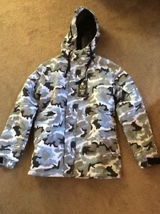 Light grey Army Design Jacket