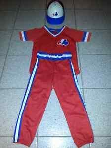 Ensemble de des expos de montreal,uniforme de baseball des expos