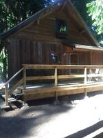 Cabin for vacation rental in Scotch Creek, B.C. at Shuswap Lake