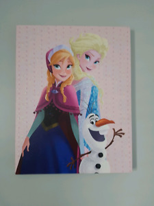 Frozen canvas print euc