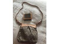 Genuine DKNY handbag and purse