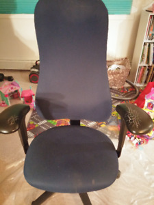 Free chair (swivels, adjustable, good for a desk)