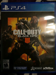 Call of Duty Black Ops 4 PS4 Trade for Red Dead Redemption 2 PS4