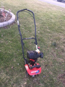 TroyBilt 4 cycle Mini Tiller/Cultivator - Used 2 times Like New