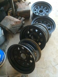 Itp wheels for a grizzly