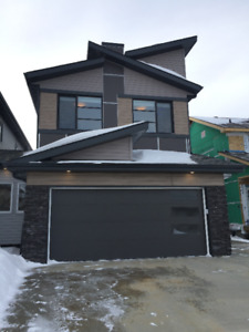 BUILDING DREAMS IN COLLEGE WOODS IN SECORD IN WEST EDMONTON