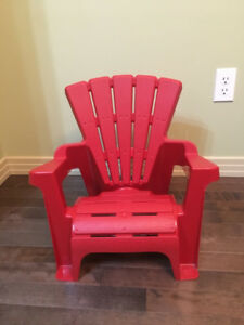 Toddler chair - new