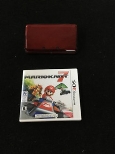 Nintendo 3DS Flame Red Great condition
