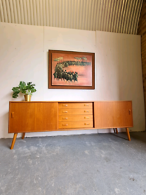 Retro Danish Mid Century Sideboard by Clausen & Son