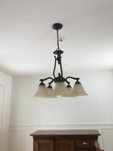 Price Drop - Dining room, Kitchen and Hall Lights For Sale