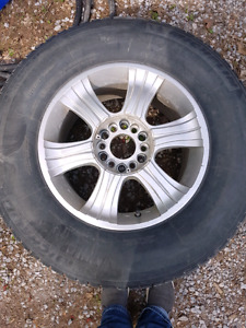 Michelin Tires and rims 255/70 R17