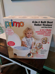 Primo 4-in-1 Soft Toilet Trainer and Step Stool, $50 obo