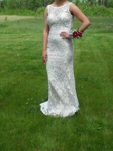Elegant Ivory Gown