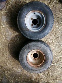 8 inch trailer wheels and tyres